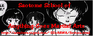 Saotome School of Anything-Goes Martial Arts